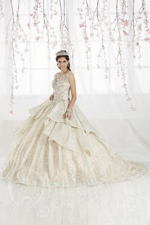 990194dfe27 House of Wu 26910 Tiered Skirt Quinceanera Dress