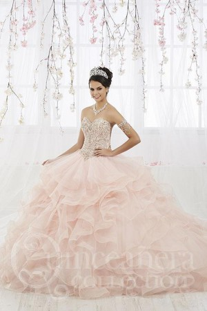 00ed5214576 House of Wu 26911 Ruffle Skirt Quinceanera Dress