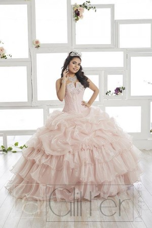 House of Wu La Glitter 24014 Quince Dress