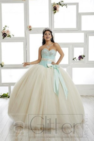 House of Wu La Glitter 24016 Quince Dress