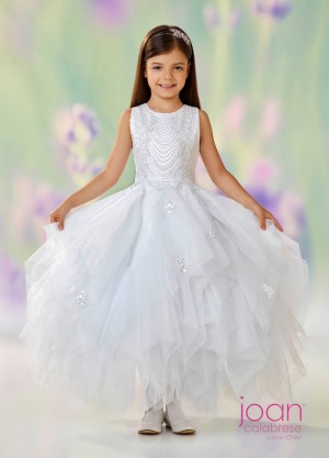 Joan Calabrese 118304 Handkerchief Skirt First Communion Dress