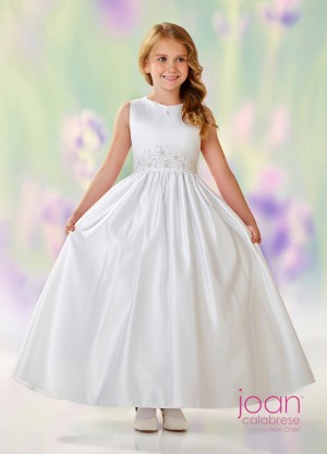 Joan Calabrese 118305 Flower Girl Dress with Back Bow