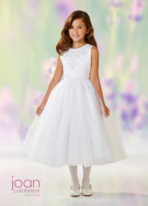 Joan Calabrese 118306 Tea-Length First Communion Dress