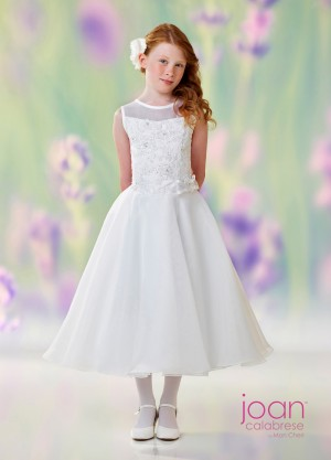 Joan Calabrese 118316 Drop Waist First Communion Dress
