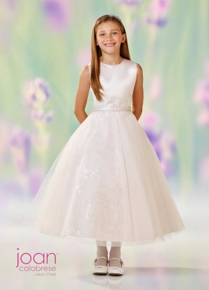 Joan Calabrese 118319 Lace Skirt Flower Girl Dress