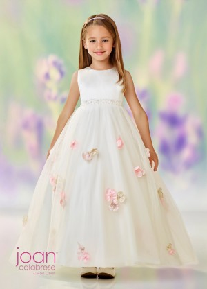 Joan Calabrese 118323 Empire Waist Flower Girl Dress