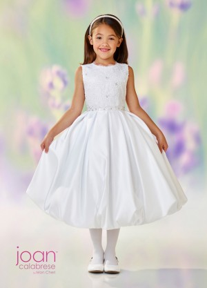 Joan Calabrese 118324 Bubble Skirt First Communion Dress