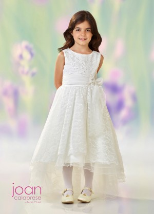 Joan Calabrese 118331 High-Low Flower Girl Dress