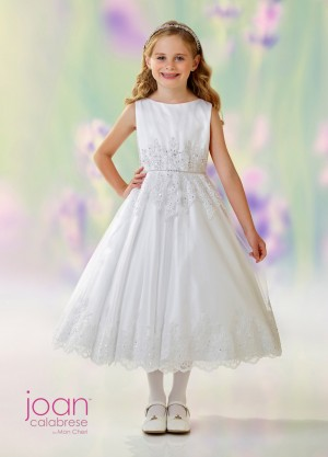 Joan Calabrese 118332 A-line First Communion Dress