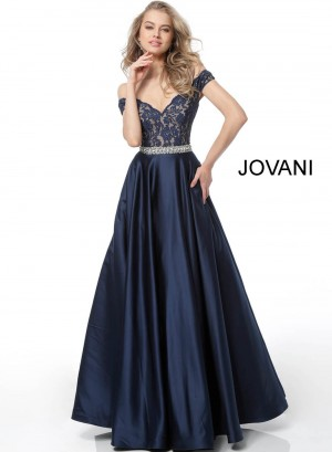 Jovani 60372 Lace Top Formal Dress