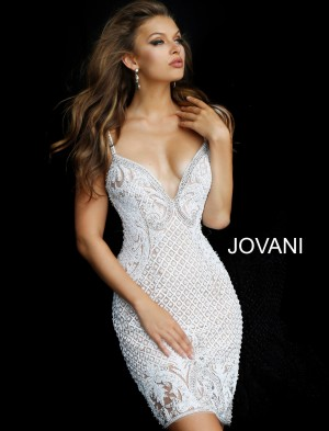 Jovani 62911 Fully Beaded Dress