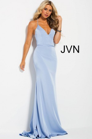 db22b01392d15 Jovani JVN55642 Crisscross Back Formal Dress
