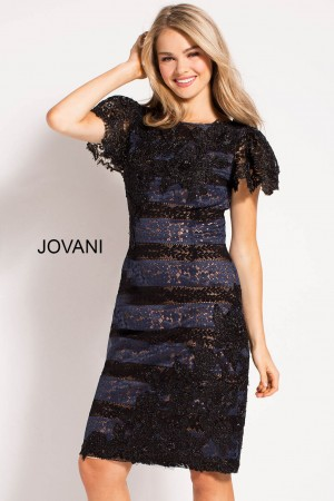 Jovani M61231 Fitted Lace Ready To Wear Dress