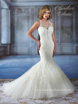 Karelina Sposa C7972 Wedding Dress