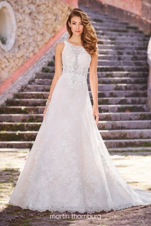 Martin Thornburg for Mon Cheri - Dress Style 218230 Capri