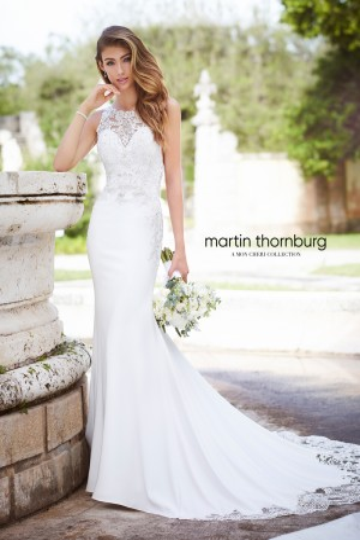 Martin Thornburg for Mon Cheri - Dress Style 218231 Perla