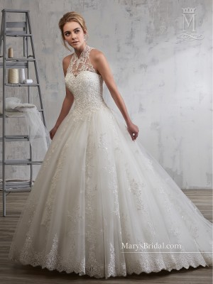 Marys Bridal 6591 Wedding Dress