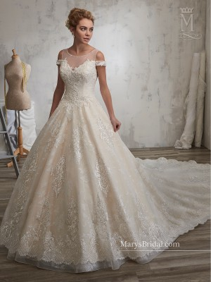 Marys Bridal 6597 Wedding Dress
