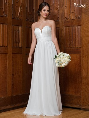 Marys Bridal MB1002 Strapless Sweetheart Wedding Dress