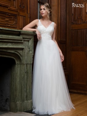 Simple casual and informal wedding dresses marys bridal dress style mb1008 junglespirit Choice Image