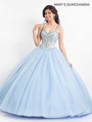 Marys Bridal MQ2020 Two-Strap Quinceanera Dress