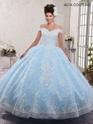 Marys Bridal MQ3001 Off-The-Shoulder Quinceanera Dress