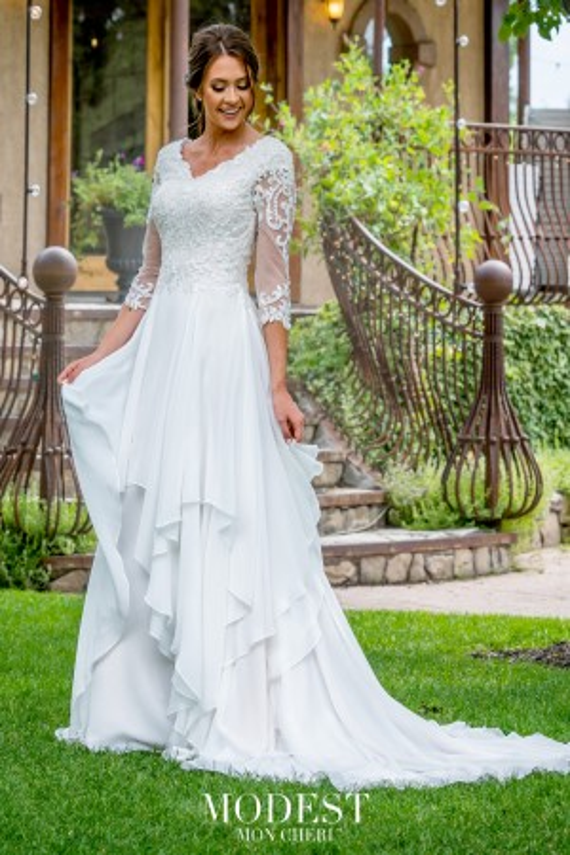 Modest Bridal by Mon Cheri - Dress Style TR11978