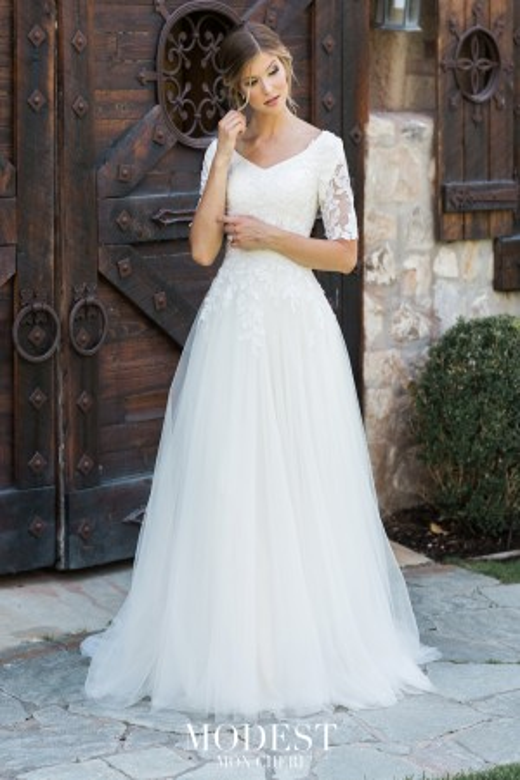 Modest Bridal by Mon Cheri - Dress Style TR11981