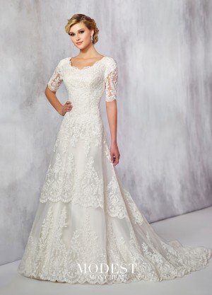 Modest Bridal by Mon Cheri TR21715