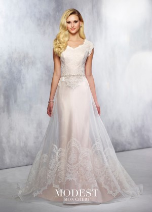 Modest Bridal by Mon Cheri TR21720