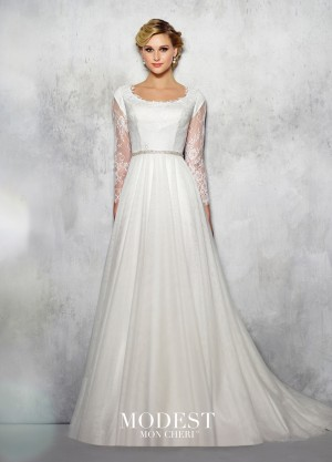 Modest Bridal by Mon Cheri TR21721