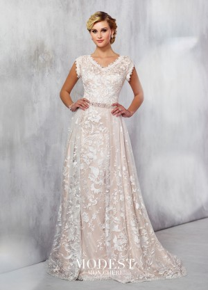 Modest Bridal by Mon Cheri TR21724