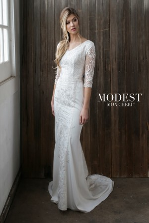 Modest Bridal by Mon Cheri - Dress Style TR21863