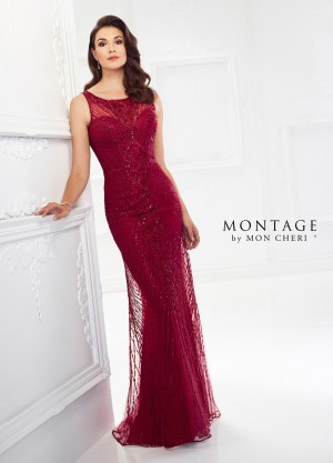 Montage by Mon Cheri 118963 Fitted Evening Dress