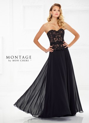 Montage by Mon Cheri 118971 Sweetheart-Neck Formal Dress