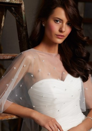 Mori Lee 11010 Wedding Cape