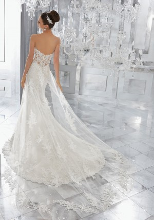 Mori Lee 11273 Wedding Train