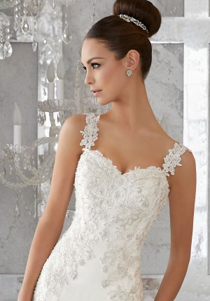 Mori Lee 11277 Wedding Strap