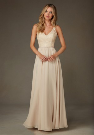 Mori Lee 122 Bridesmaid Dress