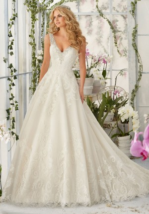 Mori Lee 2813 Wedding Dress