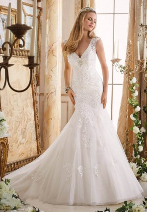 Mori Lee 2872 Wedding Dress