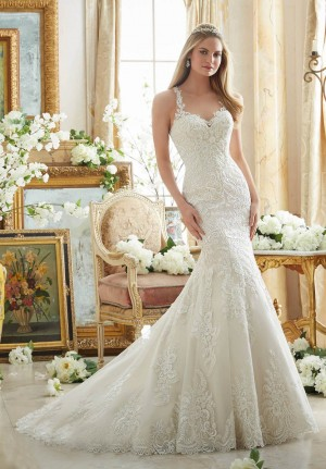 Mori Lee 2876 Wedding Dress