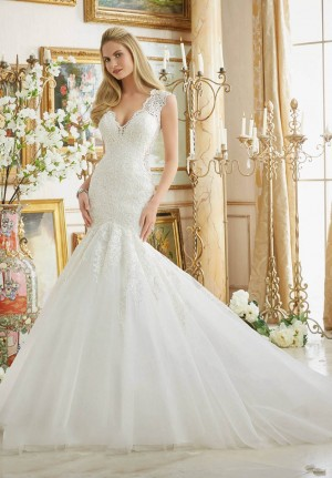 Mori Lee 2882 Wedding Dress