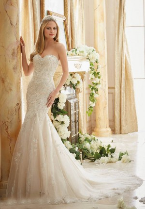 Mori Lee 2886 Wedding Dress