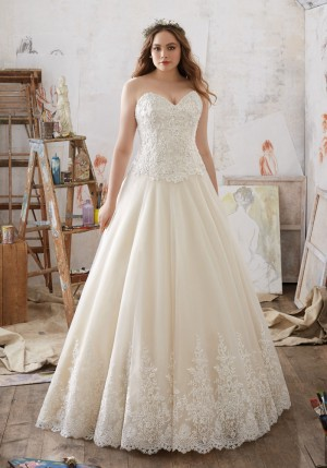 Mori Lee 3217 Miranda Wedding Dress