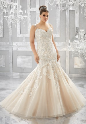 Mori Lee 3221 Musetta Wedding Dress