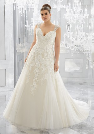 Mori Lee 3222 Merah Wedding Dress
