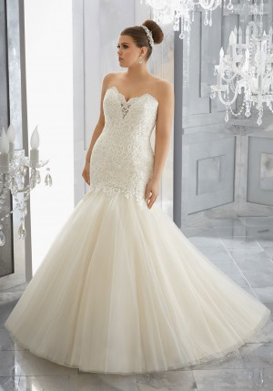 Mori Lee 3227 Mischa Wedding Dress