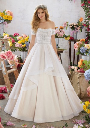 Mori Lee 6854 Megara Wedding Dress