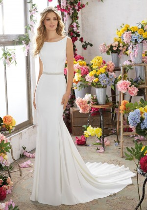 Mori Lee 6857 Melissa Wedding Dress